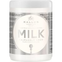 Kallos Hair Mask Milk Protein Маска для волос с молочным протеином 1000 мл