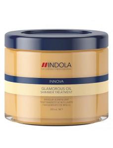 Indola Innova Glamorous Oil Shimmer Treatment Маска для гладкости и блеска 200 /750 мл
