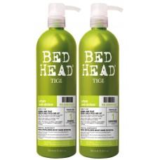 Tigi Urban Antidotes Re-Energize - Набор укрепляющий:Шампунь, кондиционер укрепляющий для нормальных волос 750 мл X 2