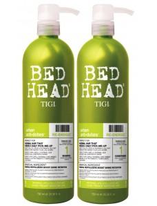 Tigi Urban Antidotes Re-Energize Shampoo, Conditioner - Шампунь, кондиционер укрепляющий для нормальных волос 750 мл X 2