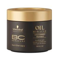 Schwarzkopf Professional ВС Bonacure Oil Miracle Gold Shimmer Treatment Золотая маска-блеск для волос, 150 мл