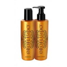 Orofluido Shampoo/Conditioner- Шампунь и кондиционер для блеска и мягкости волос 200/200 мл