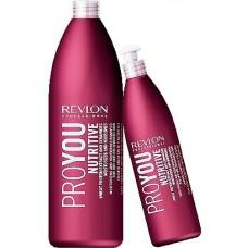 Revlon PRO YOU Nutritive shampoo - Шампунь увлажняющее питание 350 мл.