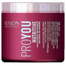 Revlon Professional PRO YOU Nutritive Treatment Маска увлажнение и питание 500 мл.