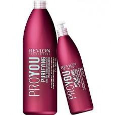 Revlon PRO YOU Purifuing shampoo - Шампунь для волос очищающий 350 мл