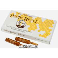 Baxter Pappa Reale - Лечебные ампулы - Маточное молочко-капиллярный восстанавливающий лосьон от выпадения волос, при окрашивании - 10 ампул.
